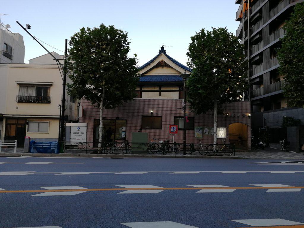 松の湯 建物