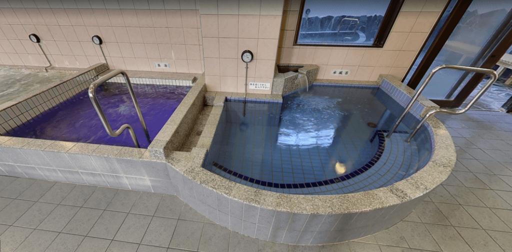 稲荷湯 浴室・1階